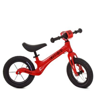 Детский беговел велобег Profi Kids SMG1205a-2 резиновые колеса 12 дюймов
