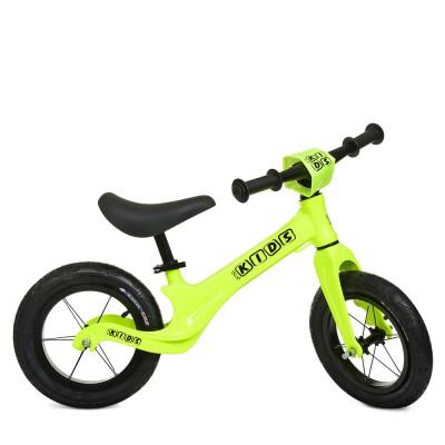 Детский беговел велобег Profi Kids SMG1205a-3 резиновые колеса 12 дюймов