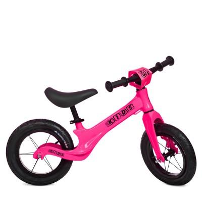 Детский беговел велобег Profi Kids SMG1205a-4 резиновые колеса 12 дюймов