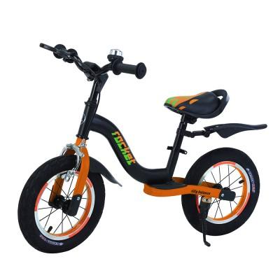 Детский беговел BALANCE TILLY Rocket T-212520/1 Orange с ручным тормозом 12 дюймов (надувные колеса)