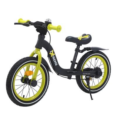 Детский беговел BALANCE TILLY Extreme T-212524 Green с ручным тормозом 14 дюймов (надувные колеса)