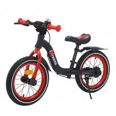 Детский беговел BALANCE TILLY Extreme T-212524 Red с ручным тормозом 14 дюймов (надувные колеса)