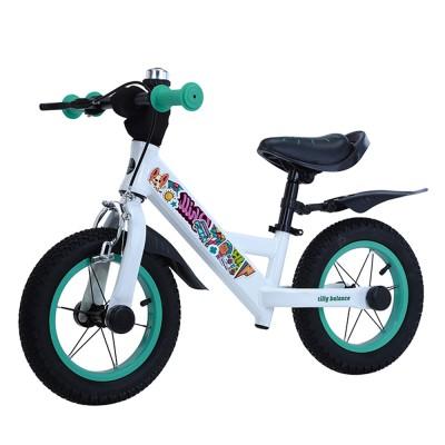 Детский беговел BALANCE TILLY Animate T-212526 Azure 12 дюймов (надувные колеса) с ручным тормозом