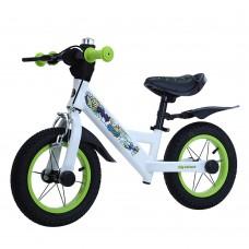 Детский беговел BALANCE TILLY Animate T-212526 Green 12 дюймов (надувные колеса) с ручным тормозом