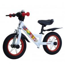 Детский беговел BALANCE TILLY Animate T-212526 Red 12 дюймов (надувные колеса) с ручным тормозом