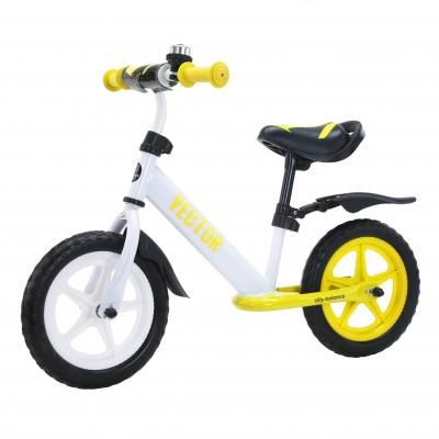 Детский беговел BALANCE TILLY Vector T-21256/1 Yellow 12 дюймов