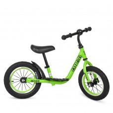 Детский беговел велобег Profi Kids M 4067a-2 резиновые колеса 12 дюймов