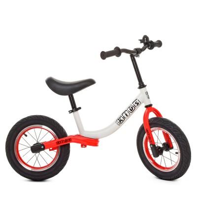 Детский беговел велобег Profi Kids 5460a-7 12 дюймов надувные колеса