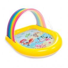 Детский надувной бассейн 57156 Радуга