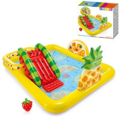 Детский игровой надувной центр 57158 Intex Веселый фрукт