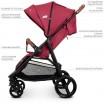 Детская прогулочная коляска ME 1024 X4 Deep Red