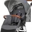 Детская прогулочная коляска ME 1071 GALLANT v.2 Graphite с водоотталкивающей тканью
