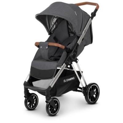 Детская прогулочная коляска ME 1071 GALLANT Dark Grey