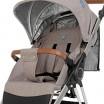 Детская прогулочная коляска ME 1071 GALLANT v.2 Sand  с водоотталкивающей тканью