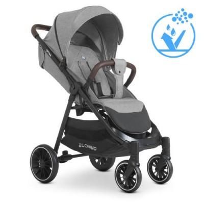 Детская прогулочная коляска ME 1083 OPTIMA Grey