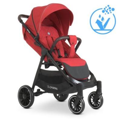 Детская прогулочная коляска ME 1083 OPTIMA Red