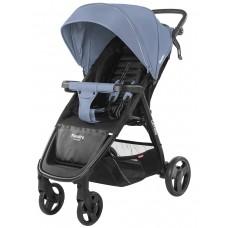 Детская коляска прогулочная CARRELLO Maestro CRL-1414 Soft Blue + дождевик
