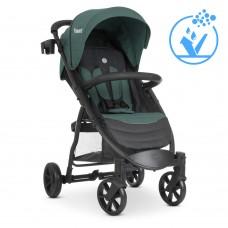 Детская прогулочная коляска M 3409 FAVORIT v.2 Forest Green
