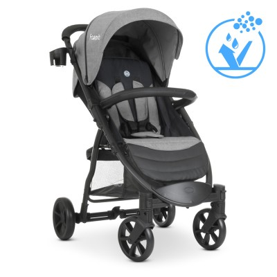 Детская прогулочная коляска M 3409 FAVORIT v.2 Medium Gray