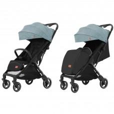 Детская прогулочная коляска CARRELLO Turbo CRL-5503 Leaf Green + дождевик
