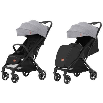 Детская прогулочная коляска CARRELLO Turbo CRL-5503 Cool Grey + дождевик