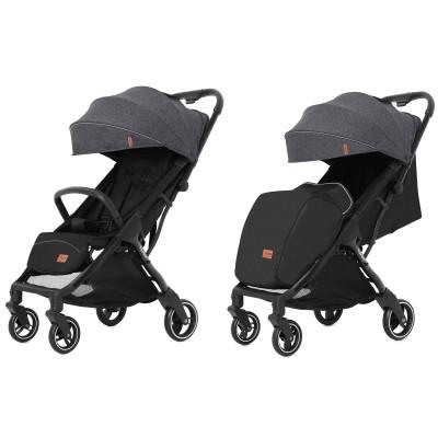 Детская прогулочная коляска CARRELLO Turbo CRL-5503 Moon Grey + дождевик