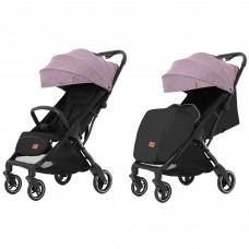 Детская прогулочная коляска CARRELLO Turbo CRL-5503 Grape Pink + дождевик
