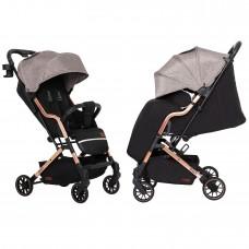Детская прогулочная коляска CARRELLO Smart CRL-5504 Milkshake Beige + дождевик