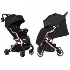 Детская прогулочная коляска CARRELLO Smart CRL-5504 Night Black + дождевик