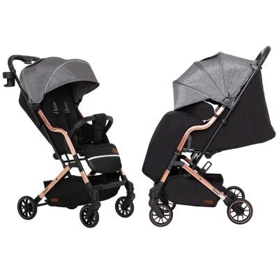 Детская прогулочная коляска CARRELLO Smart CRL-5504 City Grey + дождевик