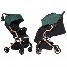 Детская прогулочная коляска CARRELLO Smart CRL-5504 Leaf Green + дождевик
