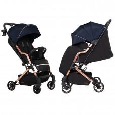 Детская прогулочная коляска CARRELLO Smart CRL-5504 Ink Blue + дождевик