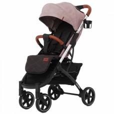 Детская прогулочная коляска CARRELLO Astra CRL-5505 Apricot Pink + дождевик