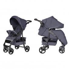 Детская прогулочная коляска CARRELLO Quattro CRL-8502/3 Admiral Blue + дождевик + москитка