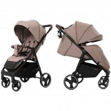 Детская прогулочная коляска CARRELLO Bravo CRL-8512 Linen Beige + дождевик