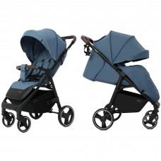 Детская прогулочная коляска CARRELLO Bravo CRL-8512 Pacific Blue + дождевик