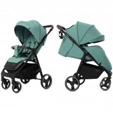 Детская прогулочная коляска CARRELLO Bravo CRL-8512 Basil Green + дождевик