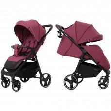 Детская прогулочная коляска CARRELLO Bravo CRL-8512 Chili Red + дождевик
