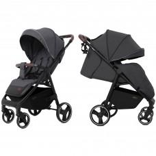 Детская прогулочная коляска CARRELLO Bravo CRL-8512 Serious Grey + дождевик