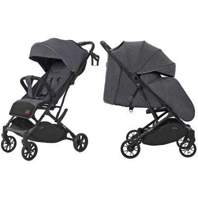 Детская прогулочная коляска CARRELLO Presto CRL-9002 Oil Grey + дождевик