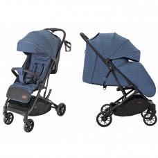 Детская прогулочная коляска CARRELLO Presto CRL-9002 Thunder Blue + дождевик