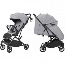 Детская прогулочная коляска CARRELLO Presto CRL-9002 Harbor Grey + дождевик