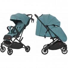 Детская прогулочная коляска CARRELLO Presto CRL-9002 Midnight Green + дождевик