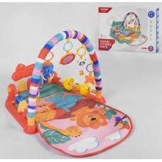 Детский развивающий коврик 0630 с музыкальной панелью