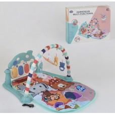 Детский развивающий коврик 668-30 с музыкальной панелью