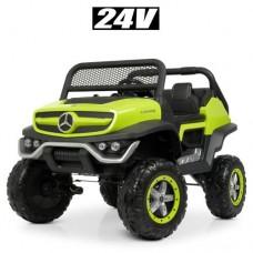 Детский электромобиль джип M 4133EBLR-5 двухместный