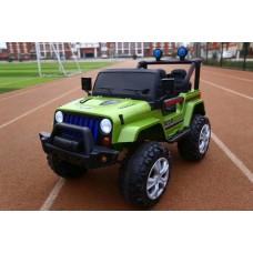 Детский электромобиль джип T-7843 EVA GREEN
