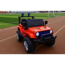 Детский электромобиль джип T-7843 EVA RED