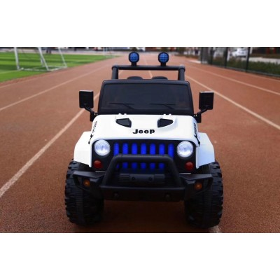 Детский электромобиль джип T-7843 EVA WHITE