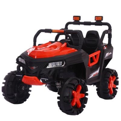 Детский электромобиль джип T-7844 EVA RED 4-моторный